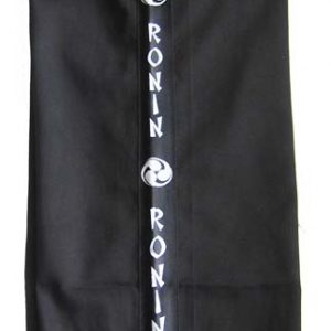 Kickboxing Trousers (Black, Ronin Stripe)
