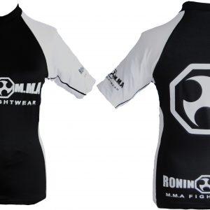 Ronin MMA B & W Rash Vest