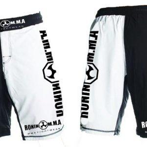 Ronin MMA B & W Shorts