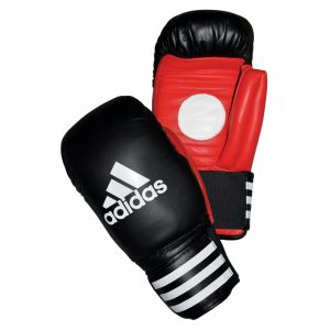 Adidas Boxing Coach Spar Gloves – Black-Red