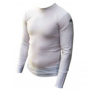 Adidas Long Sleeve Compression T-Shirt – White