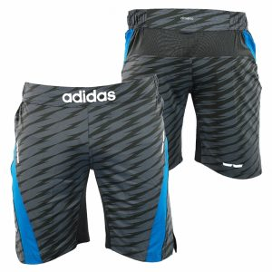 Adidas Patterned Grey Shorts
