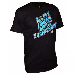 Adidas Submission Printed T-Shirt – Black