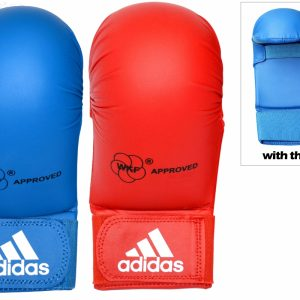 Adidas WKF Karate Mitts With Thumb