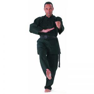 Cimac Kung Fu Uniform – Black