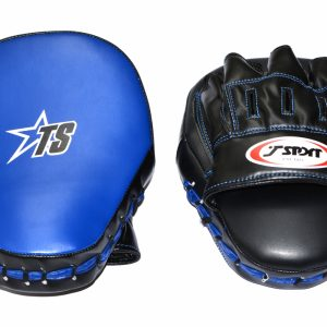 T-Sport Curved Focus Mitts – Black Blue