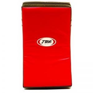T-Sport Extra Large Curved Shield – Red Black